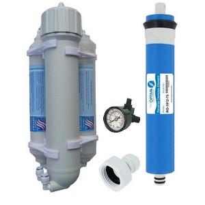 osmoseur d aquarium 100 gpd et manom 232 tre et 2 cartouches supl 233 mentaire